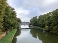 Der Elbe-Lübeck-Kanal in Lübeck