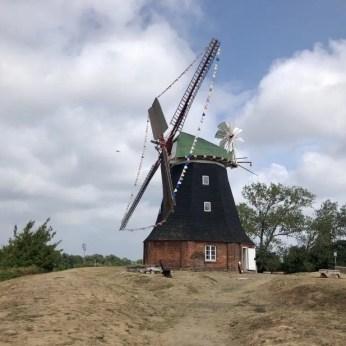 Die alte Holländermühle in Stove