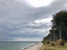 Fahrrad fahren auf dem Ostseeradweg: Am Gespensterwald bei Nienhagen