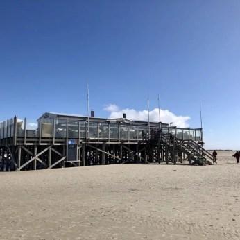 """Die """"Arche Noah"""" am Strand von St. Peter-Ording"""