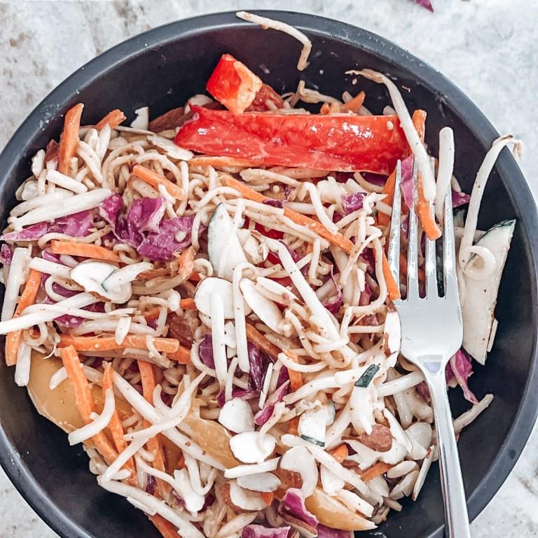 Rice Ramen Vegetable salad