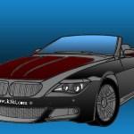 رسومات سيارات جاهزة للتلوين