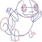 تعلم رسم البوكيمون سكويرل