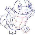تعليم رسم البوكيمون سكويرل