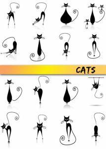 كيف أرسم قطة
