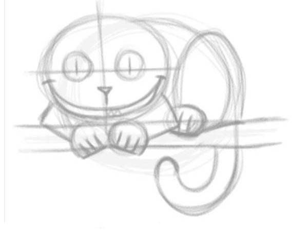 تعلم رسم قط - تعلم رسم قطة