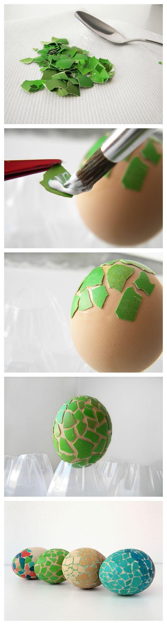 فكرة رائعة لتزيين بيض عيد الفصح