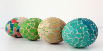 فكرة مميزة لتزيين بيض عيد الفصح