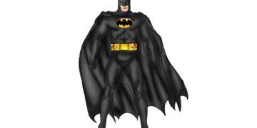 تعلم الرسم - تعلم رسم بات مان batman