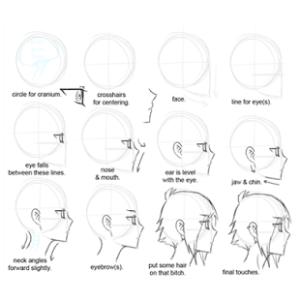 تعلم رسم مانغا