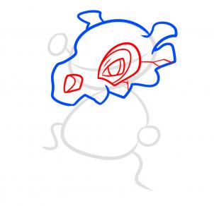 رسم بوكيمون خطوة بخطوة