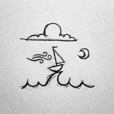 خربشة بحر وقارب