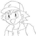 How To Draw Ash Ketchum