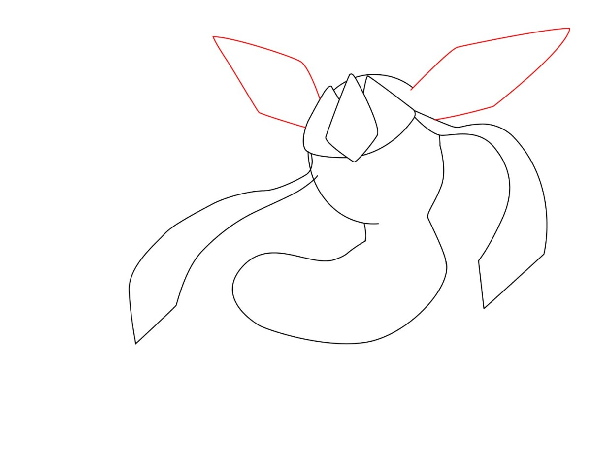 How To Draw Glaceon (4)