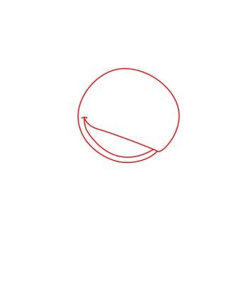 How to draw Stitch step 01