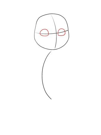 How To Draw Baby Moana Step 2