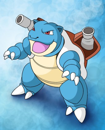 How To Draw Blastoise Step 11