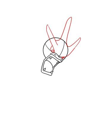How To Draw Gyarados Step 4