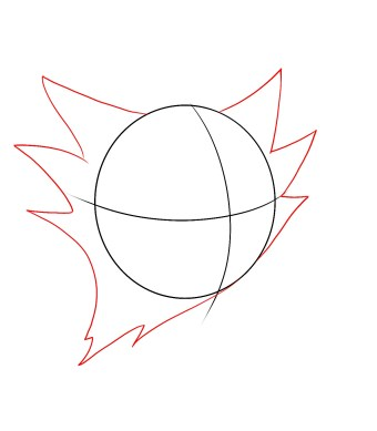 How To Draw Haunter Step 2