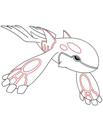 How To Draw Kyogre Step 8