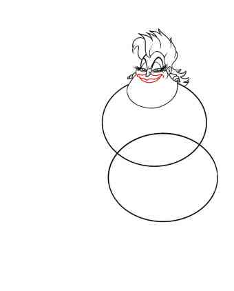How To Draw Ursula Step 7