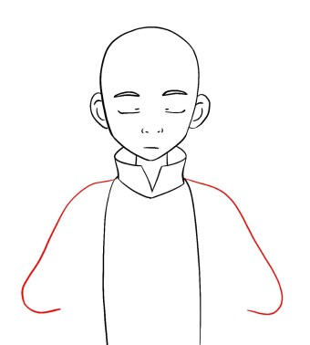 How To Draw Aang Avatar Step 6