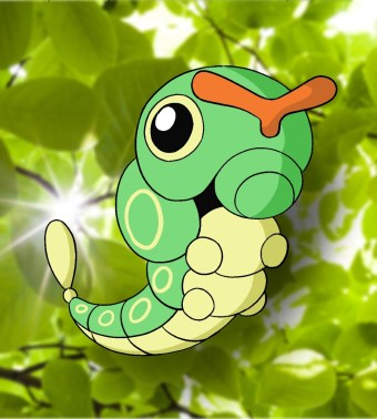 How To Draw Caterpie Step 8
