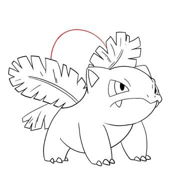 How To Draw Ivysaur Step 11