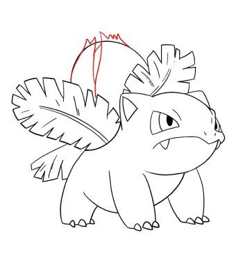 How To Draw Ivysaur Step 12