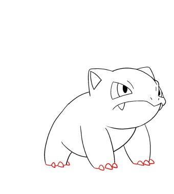 How To Draw Ivysaur Step 7