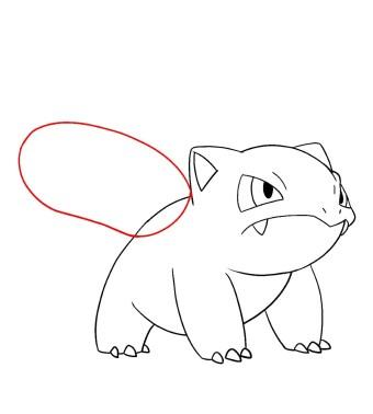 How To Draw Ivysaur Step 8