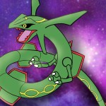 How To Draw Rayquaza Pokemon