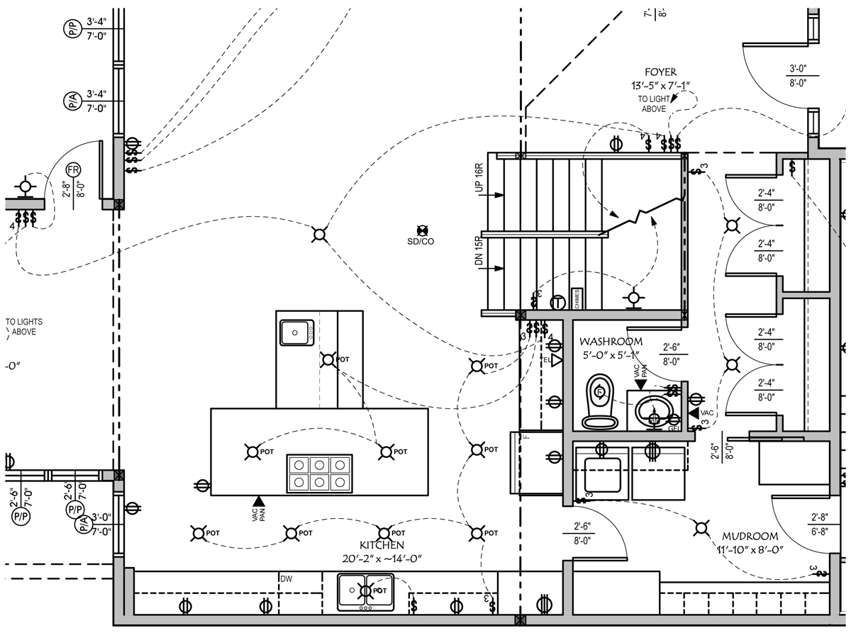 E Plan Electrical Drawing Image