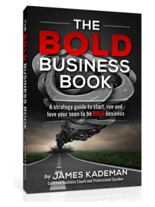 The Bold Business Book is available on Amazon