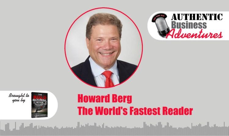 Howard Berg, the world's fastest reader