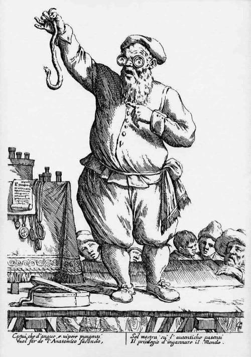 Fig. 3: Giuseppe Maria Mitelli, Le arti per via (1660)