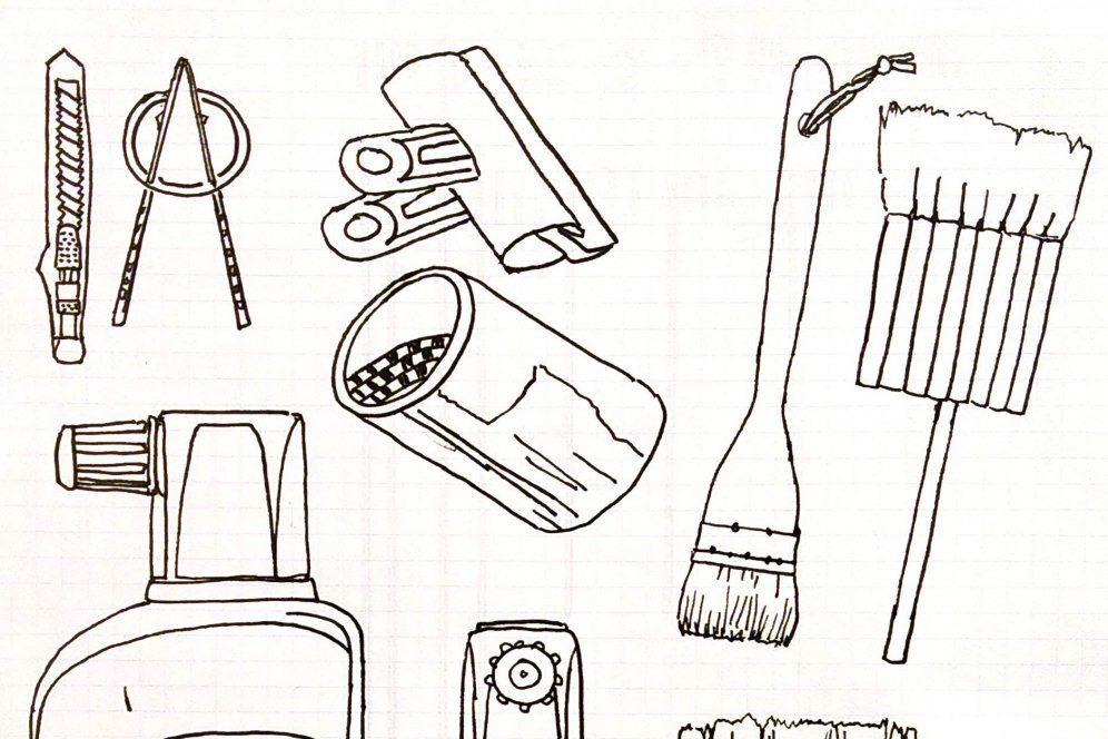 Drawing 1 Blair Thomson
