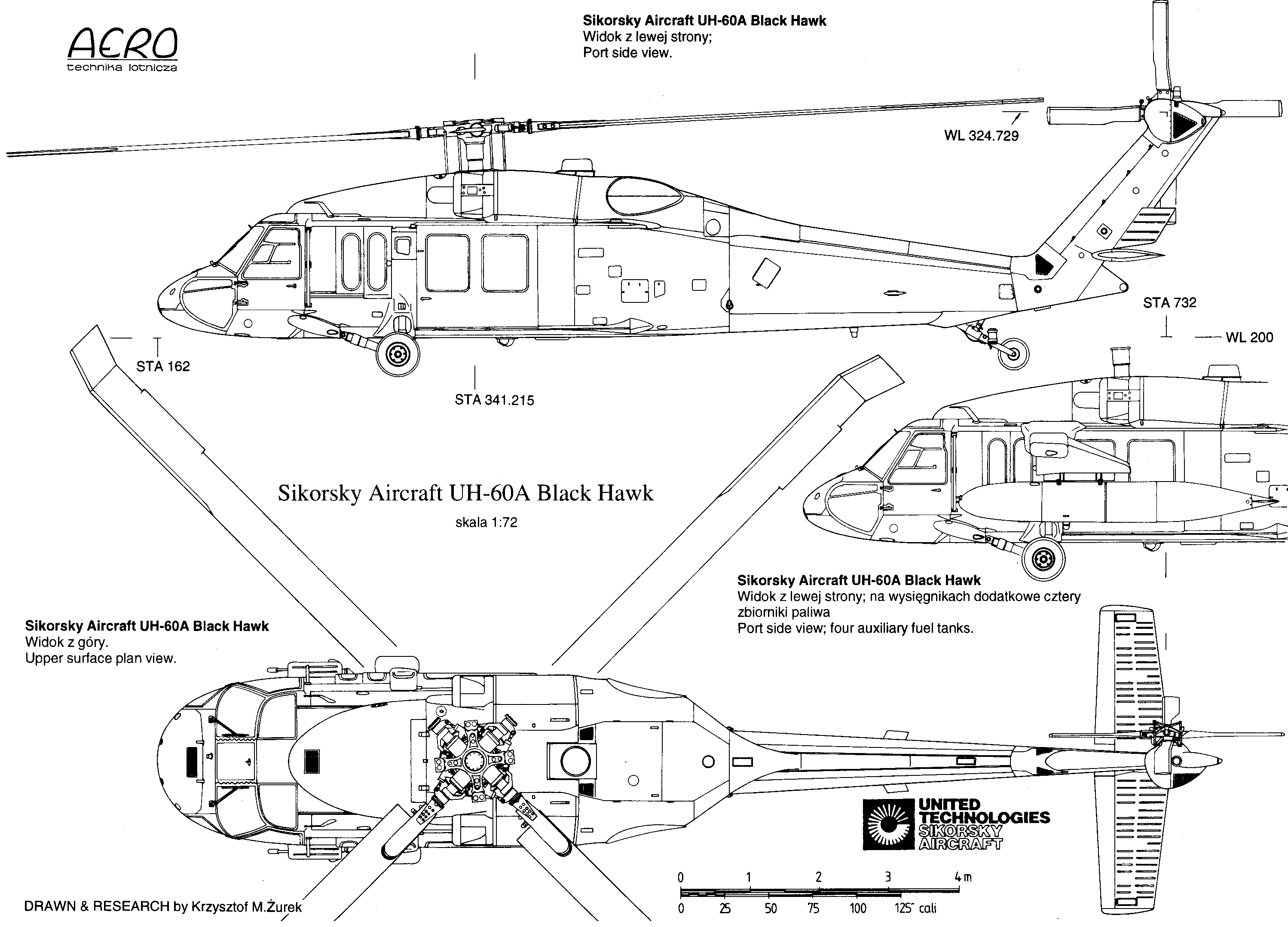 Drawing Of Helicopter Sikorsky