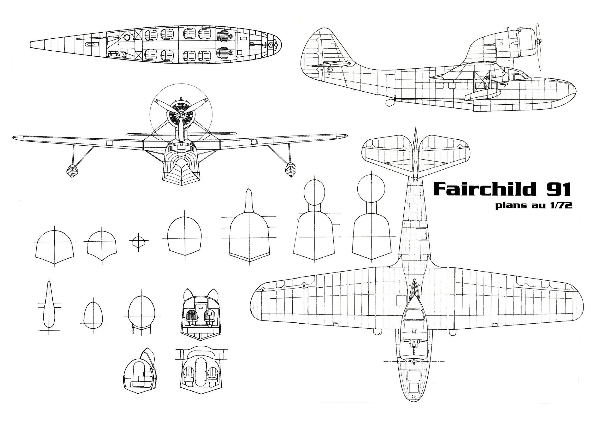Fairchild 91 Blueprint