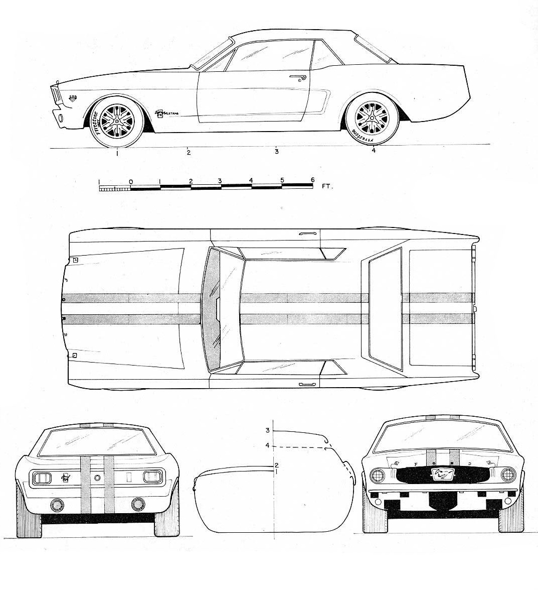 Ford Mustang Blueprint