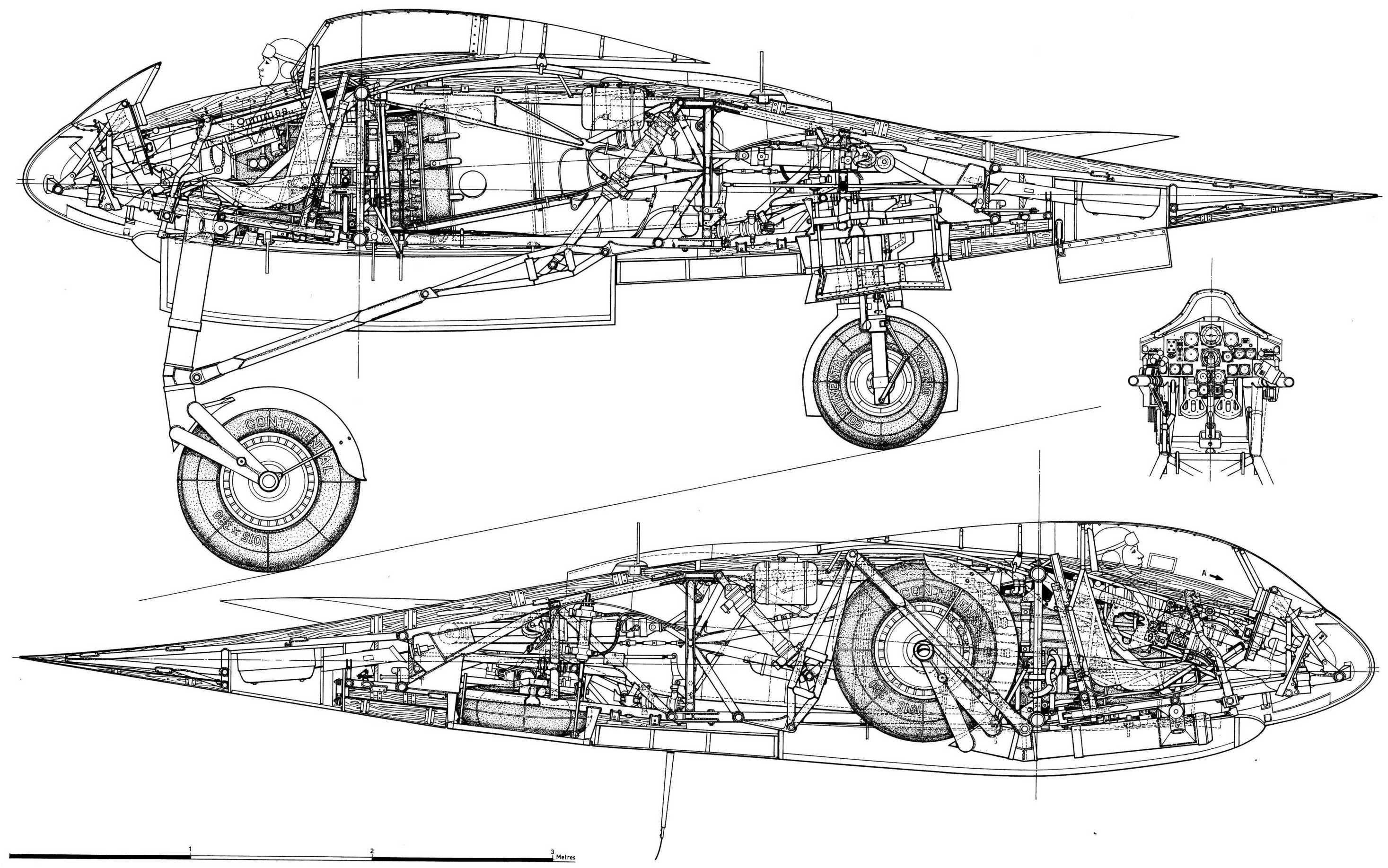 Ho 229 V3 Horten Flying Wing