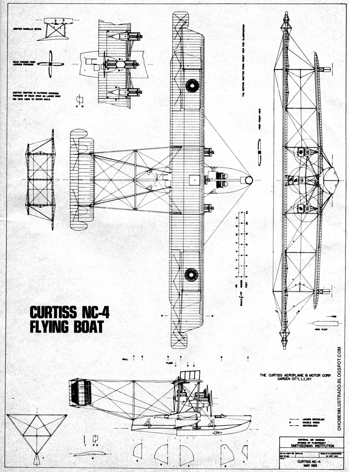 Curtiss Nc 4 Blueprint
