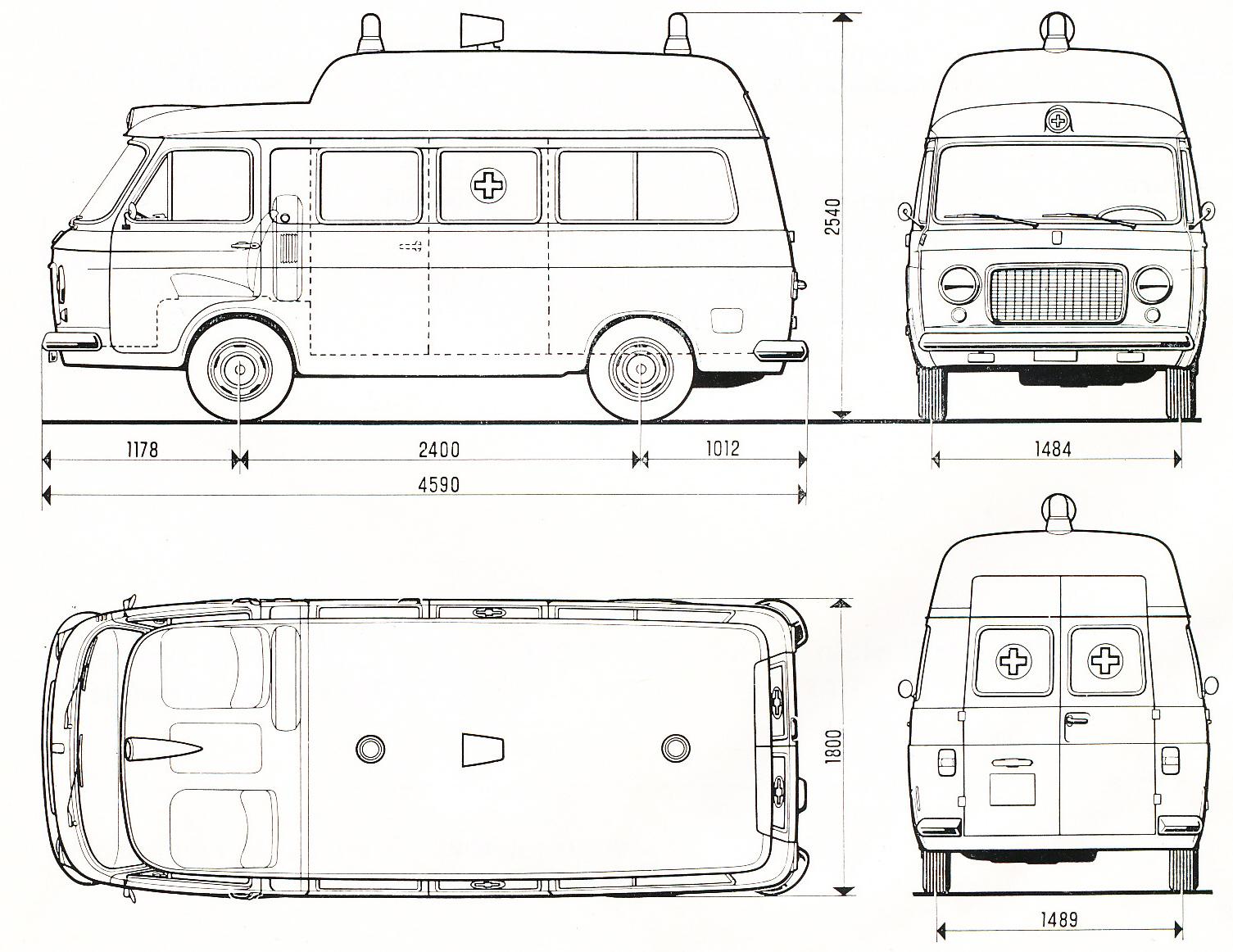 Lancia Stratos Hf Zero Blueprint