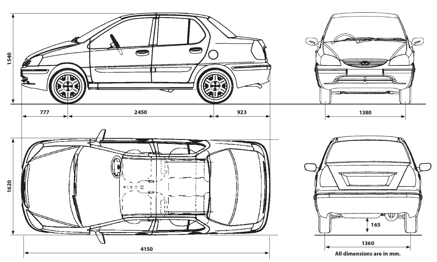 Tata Indigo Blueprint