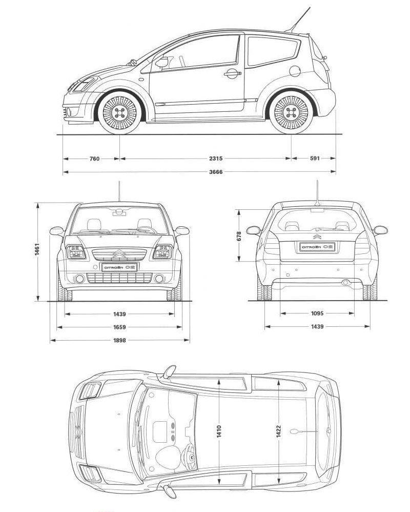 Citro 235 N C2 Blueprint Download Free Blueprint For 3d Modeling