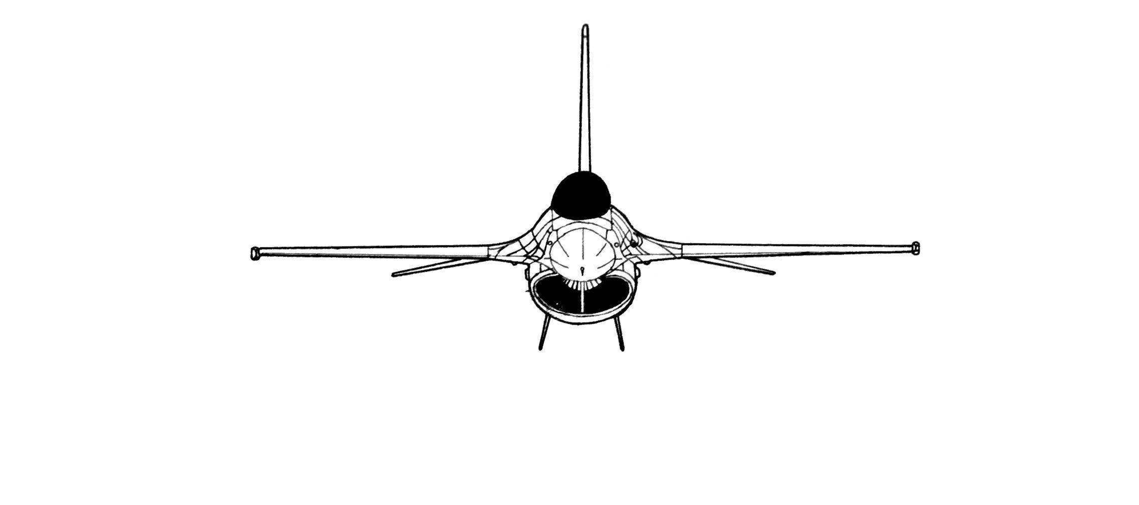 F 16 Fighting Falcon Blueprint