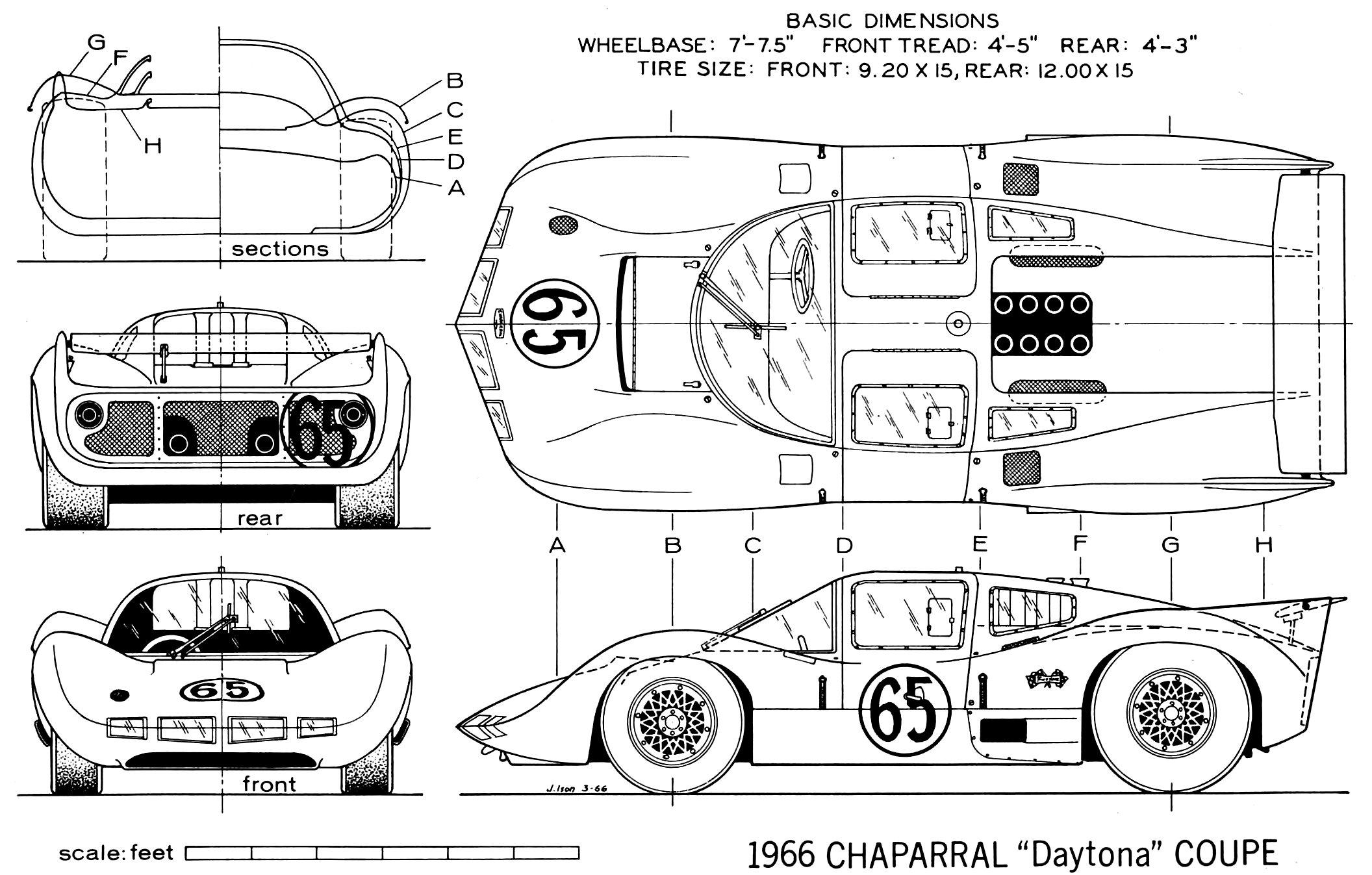Chaparral 2d Blueprint
