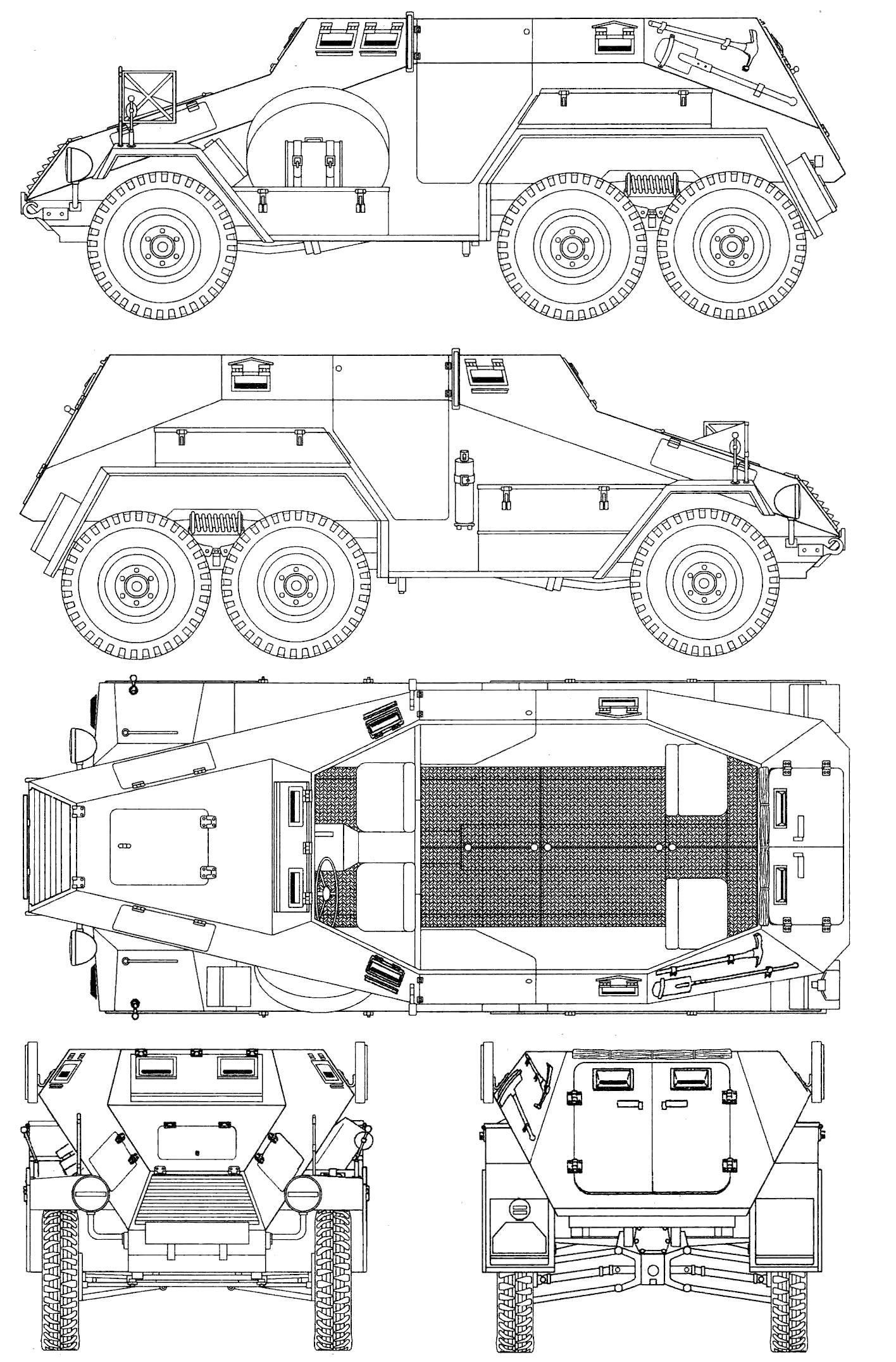 Sd Kfz 247 Ausf A Blueprint
