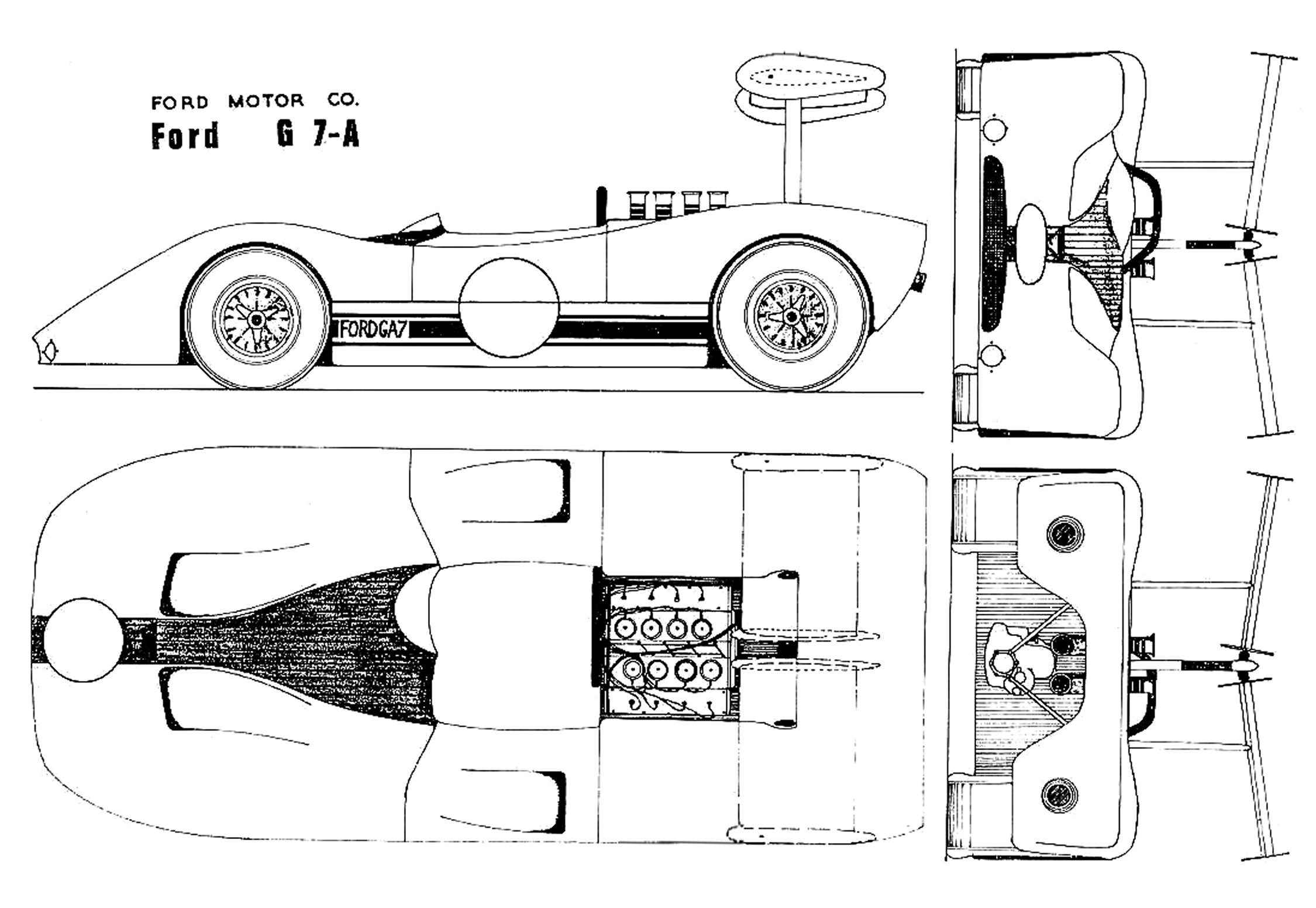Ford G7a Blueprint
