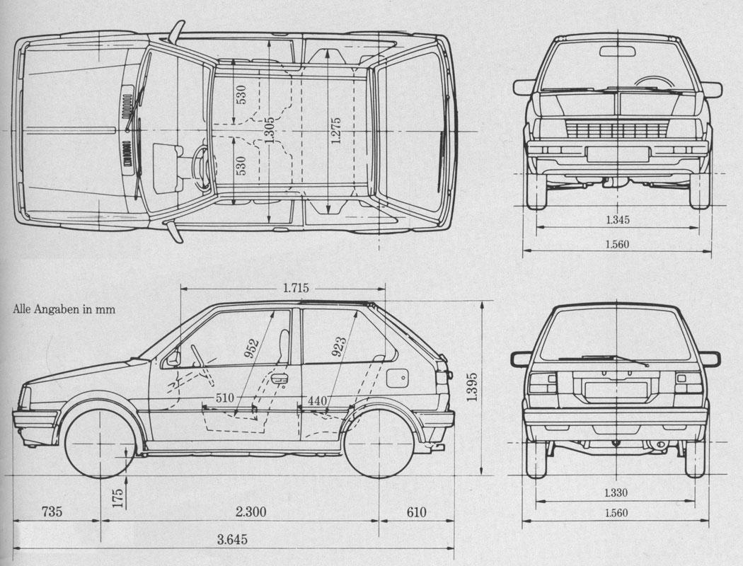 Nissan Micra K10 Blueprint